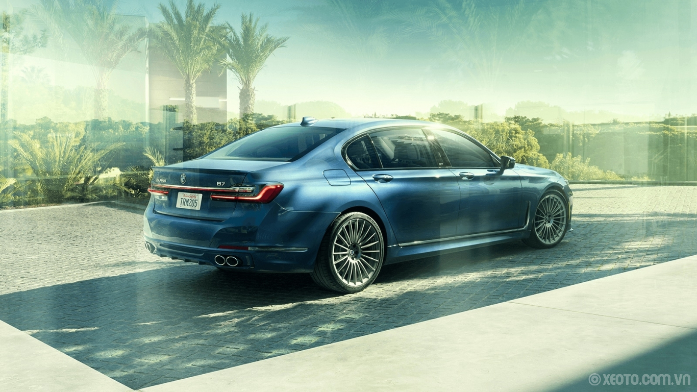 BMW 740Li 2020 hình ảnh ngoại thất Drive a mark of distinction with the exclusive colors, designs, and badging of the ALPINA B7.