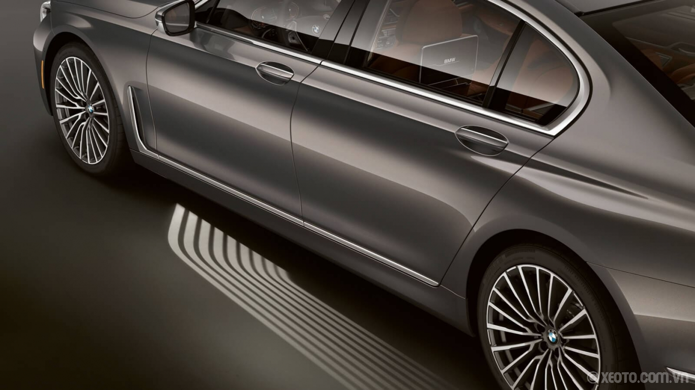 BMW 740Li 2020 hình ảnh ngoại thất The standard LED Light Carpet activates as you approach your vehicle, for an exciting welcome every time.