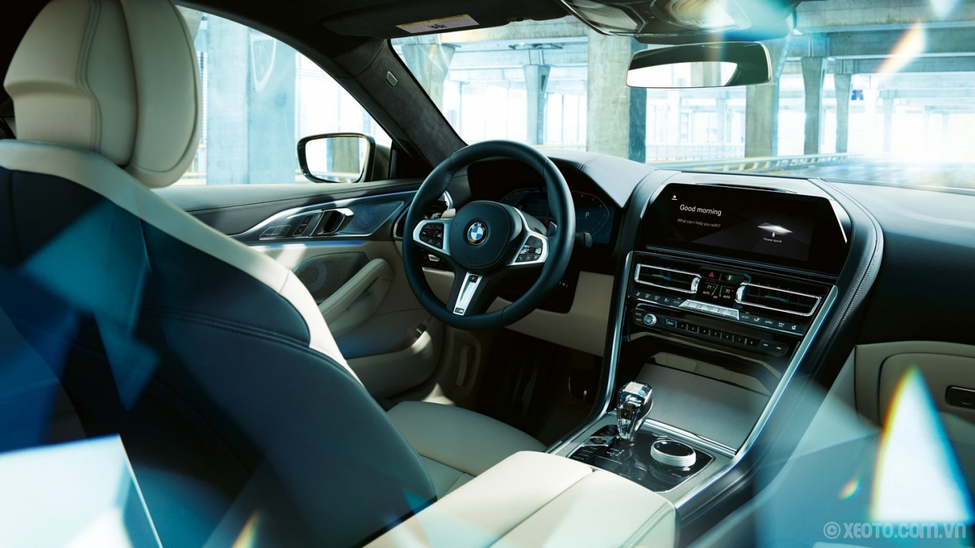 BMW 840i 2021 hình ảnh nội thất Express your individuality with exclusive interior design options from luxurious upholstery to controls in the BMW 8 Series Gran Coupe.