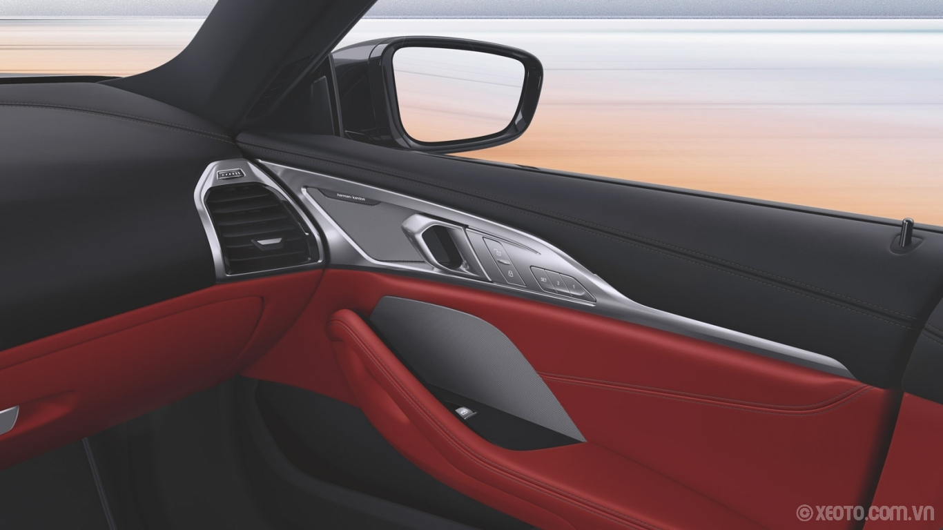 BMW 840i 2021 hình ảnh nội thất The Harman Kardon Surround Sound system lets you set whatever mood you wish, creating a symphony of sound.