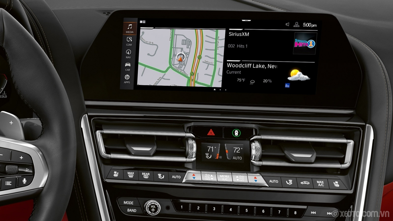 BMW 840i 2021 hình ảnh nội thất The high-resolution touchscreen of the Central Information Display provides convenient access to the latest BMW iDrive system, so every drive is the pinnacle of comfort, luxury, and ease.