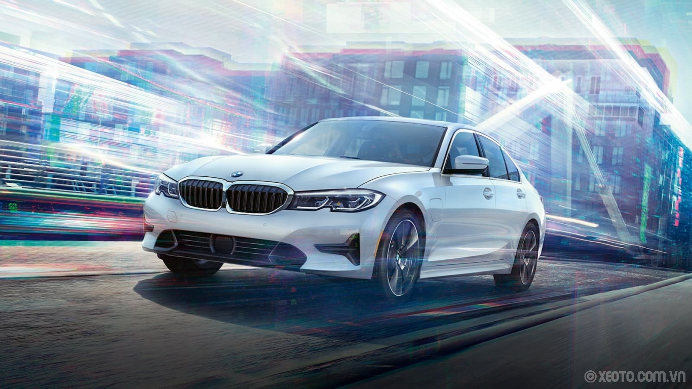 BMW M3 2020 hình ảnh ngoại thất Say hello to the All-New BMW 330e, a plug-in hybrid sedan with the thrilling power of a BMW.
