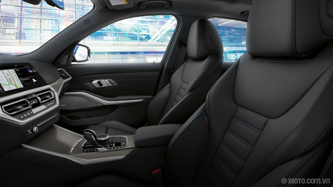 BMW M3 2020 hình ảnh nội thất The power Sport Seats in the 330i are designed with multiple adjustable features for maximum comfort.