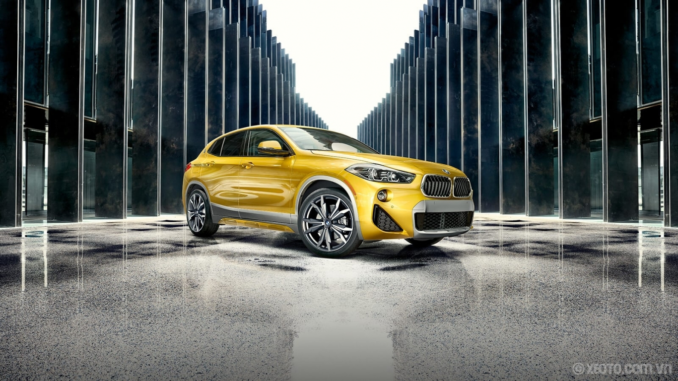 BMW X2 2020 hình ảnh ngoại thất Exclusive paint finishes like Galvanic Gold Metallic make the already unique BMW X2 stand out even more.