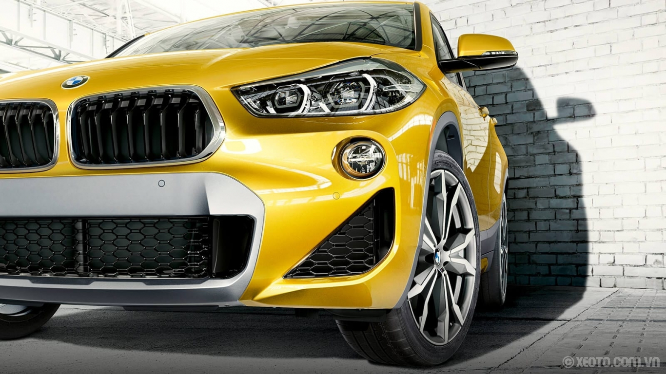 BMW X2 2020 hình ảnh ngoại thất The M Sport X Package and inverted kidney grille of the BMW X2 make a bold first impression.