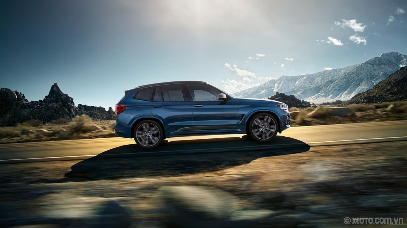 BMW X3 2020 hình ảnh ngoại thất Every open road is an invitation. Answer the call in the powerful, versatile BMW X3.