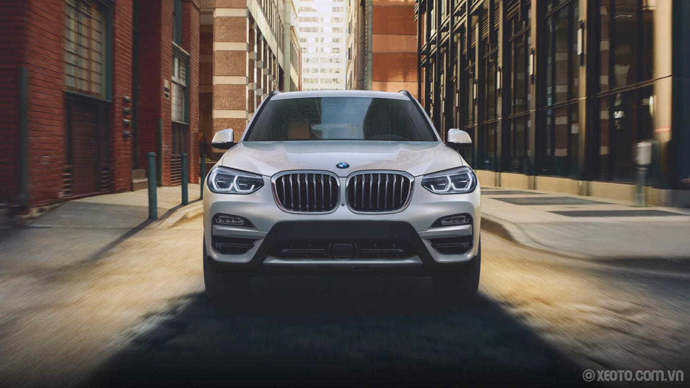 BMW X3 2020 hình ảnh ngoại thất The BMW X3 presents the perfect size to conquer both open highways and tight city streets.