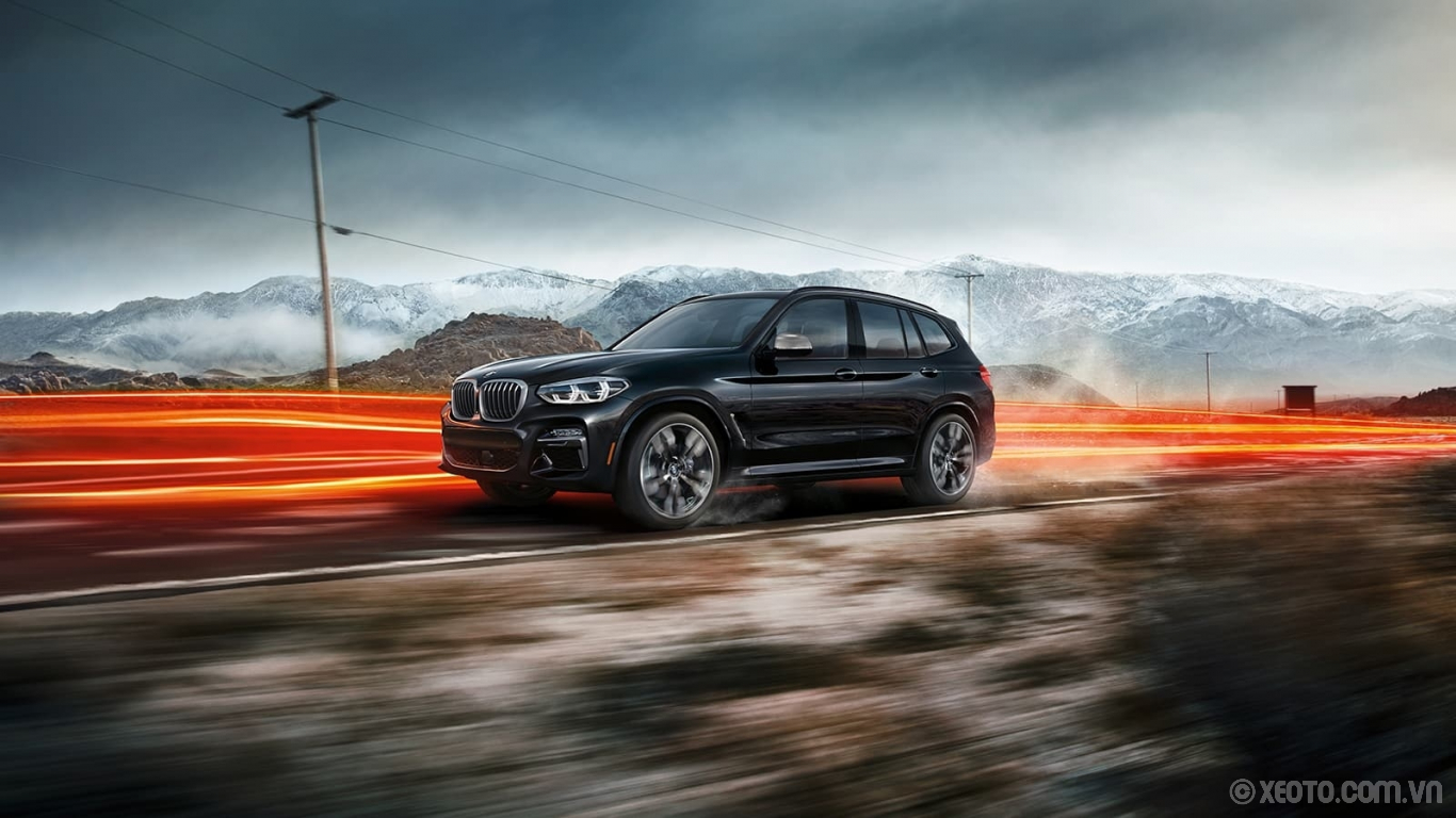 BMW X3 2020 hình ảnh ngoại thất The X3 M40i turns quick trips into thrilling sprints with a TwinPower Turbo inline 6-cylinder engine and M-engineered performance components throughout.