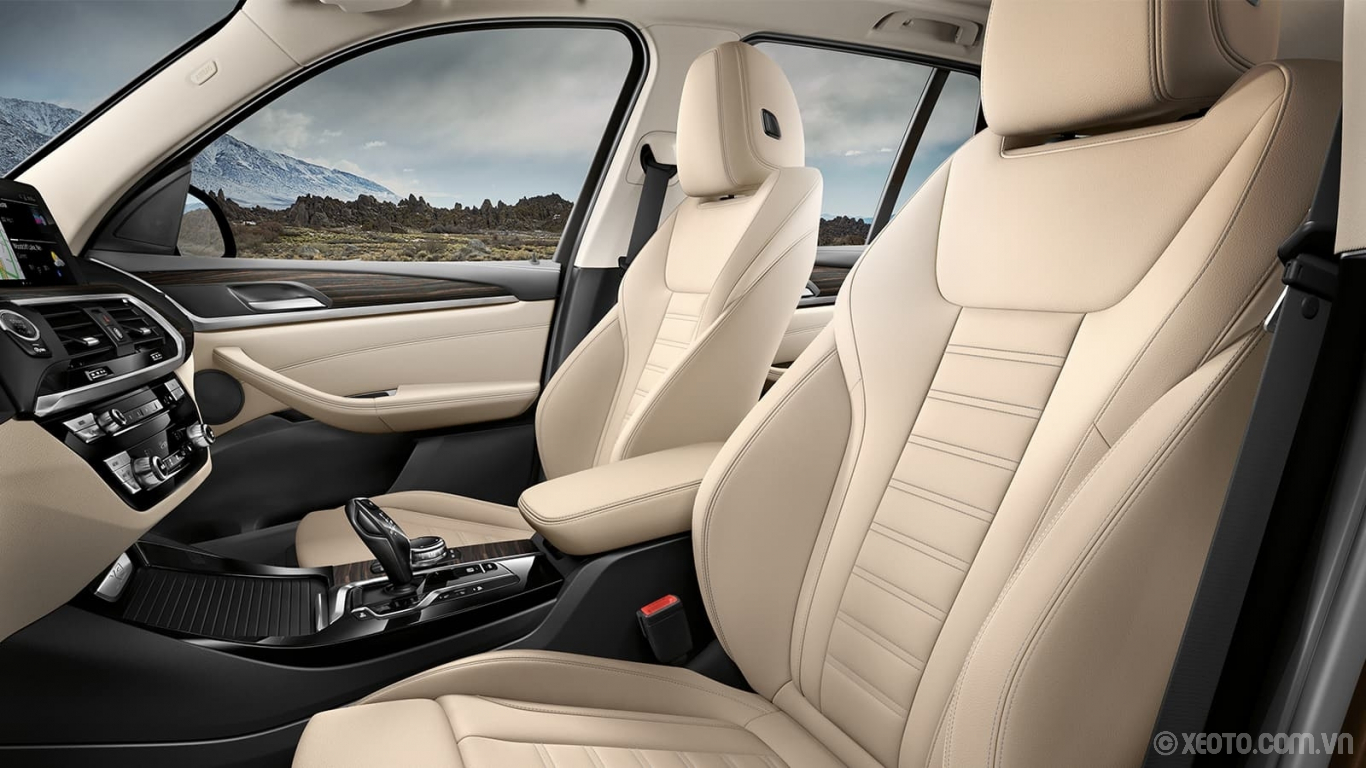 BMW X3 2020 hình ảnh nội thất BMW luxury comes to life with rich Vernasca Leather and contrast stitching.