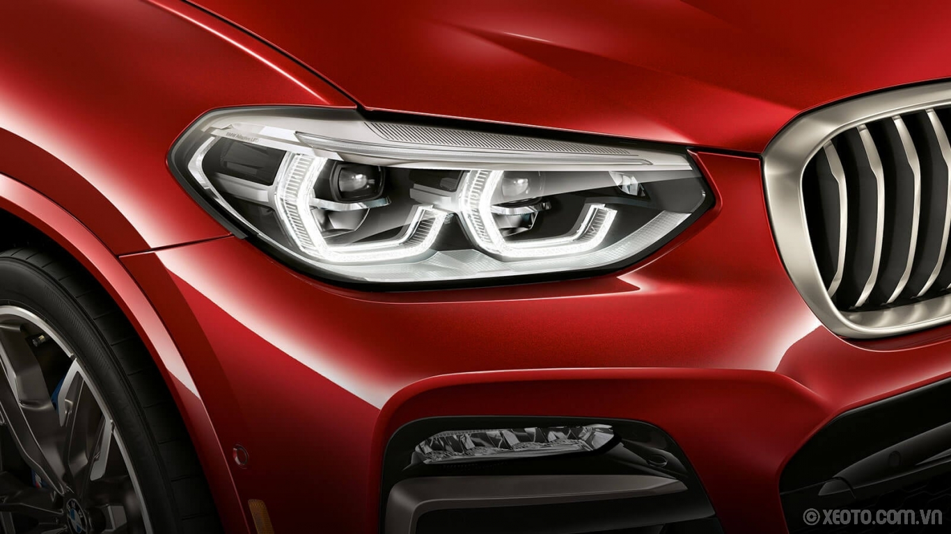 BMW X4 2020 hình ảnh ngoại thất Captivate in any light with your BMW X4's available Adaptive Full LED Lights.