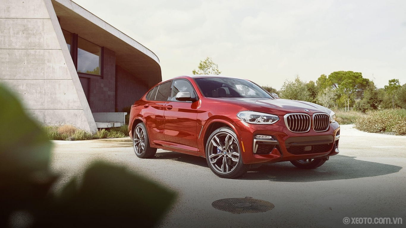 BMW X4 2020 hình ảnh ngoại thất Demand attention with the powerful design and distinctive features of your BMW X4.