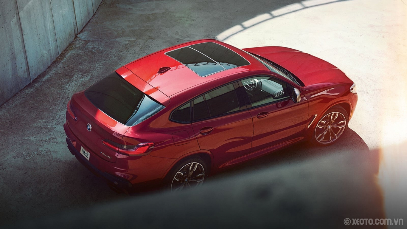 BMW X4 2020 hình ảnh ngoại thất Muscular curves and a low coupe roofline make your BMW X4 a powerful force on the road.