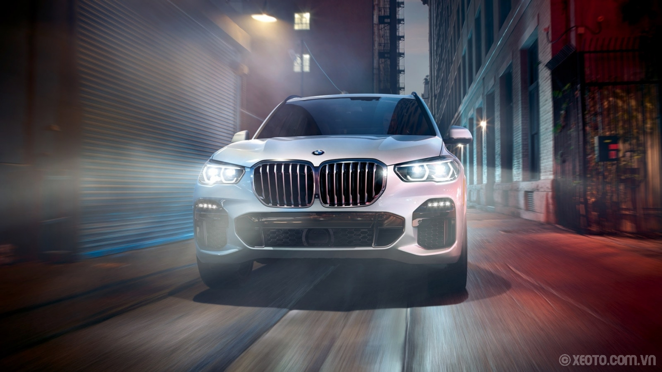 BMW X5 2020 hình ảnh ngoại thất Meet the grillemaster. A larger, one-piece active kidney grille draws attention to the front of the .