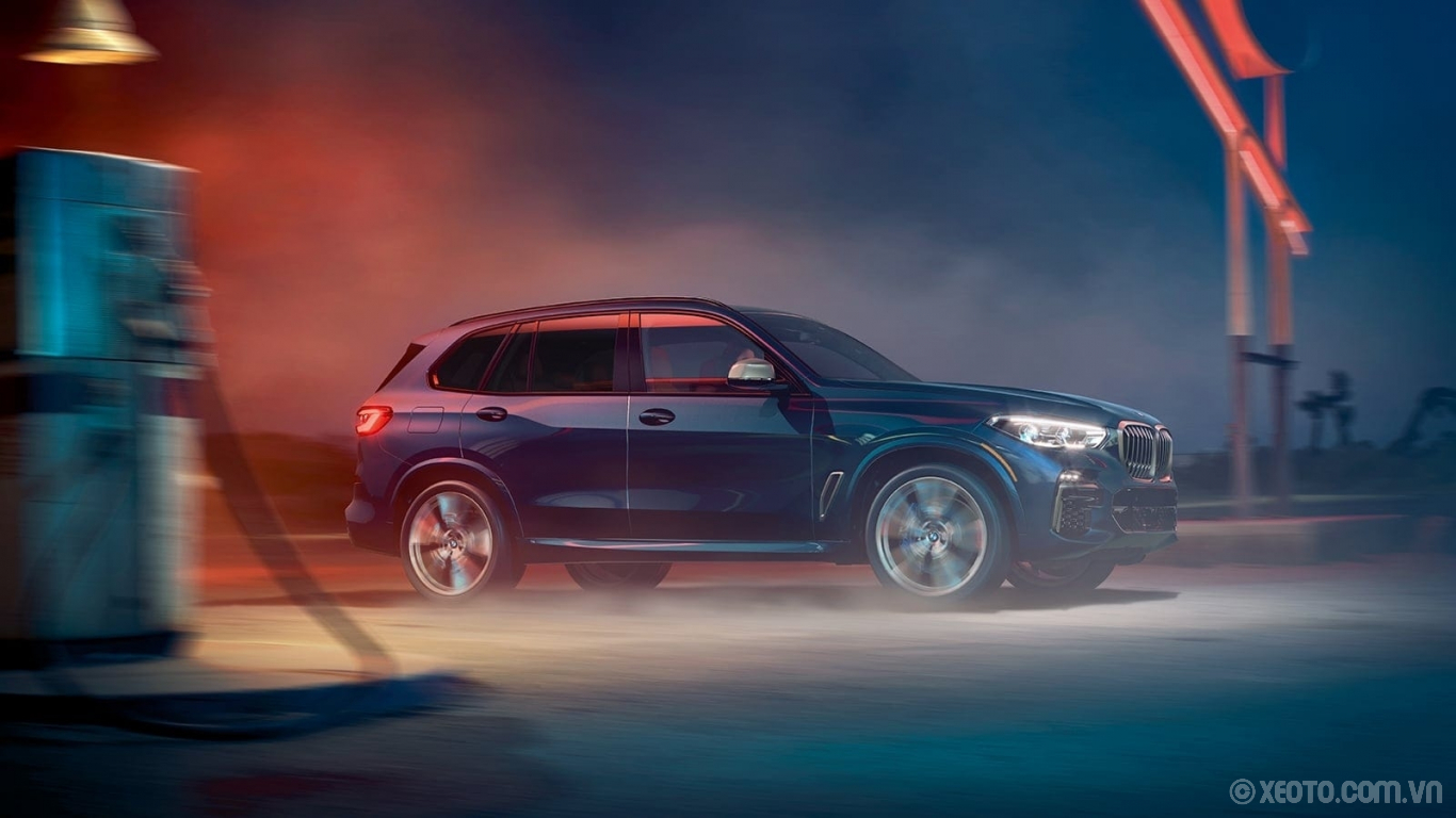 BMW X5 2020 hình ảnh ngoại thất The BMW X5 has available xDrive, giving you superior handling in all conditions, so you can confidently take on any challenge.