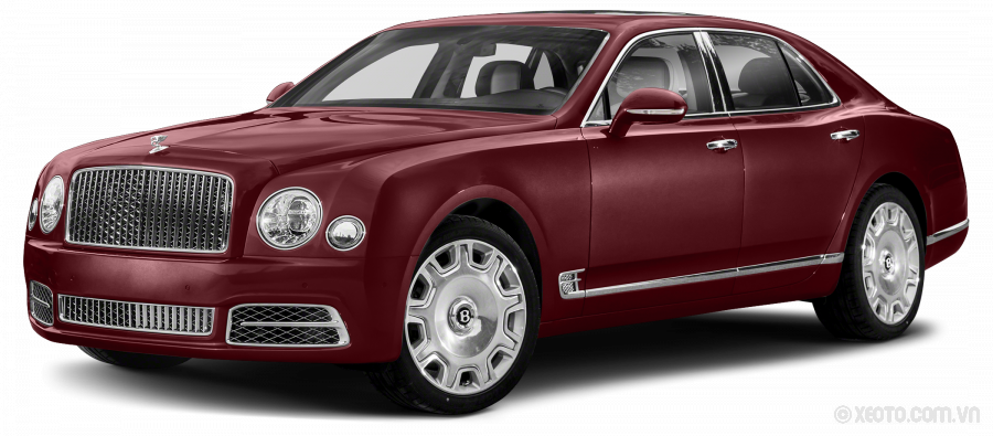 Bentley Mulsanne 2020 Màu Burgundy Metallic