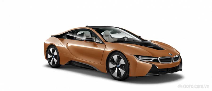 BMW i8 2020 Màu E-Copper with Frozen Grey Accent