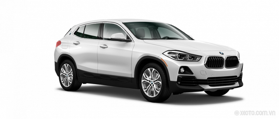 BMW X2 2020 Màu Mineral White Metallic