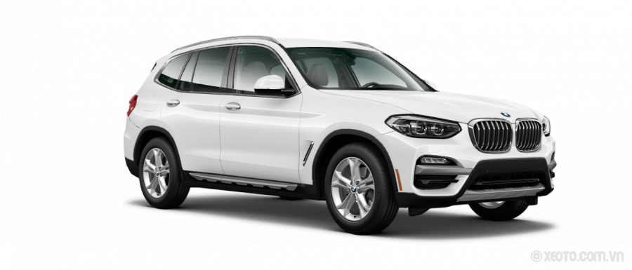 BMW X3 2020 Màu Alpine White