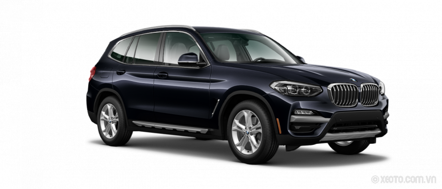 BMW X3 2020 Màu Carbon Black Metallic