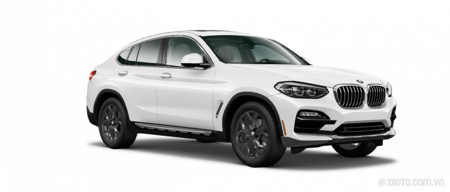 BMW X4 2020 Màu Alpine White