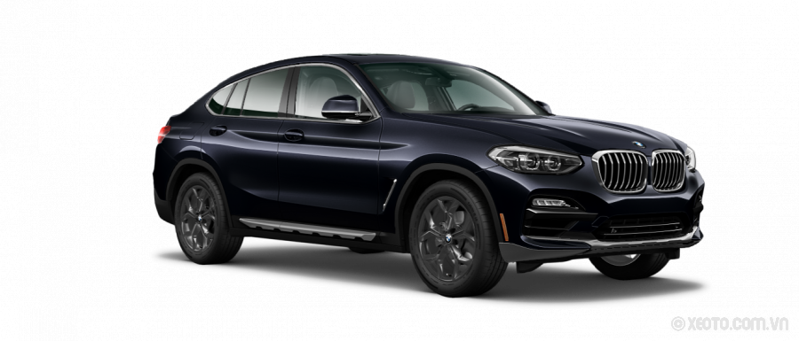 BMW X4 2020 Màu Carbon Black Metallic