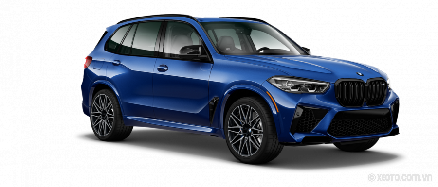 BMW X5 M 2021 Màu Marina Bay Blue metallic