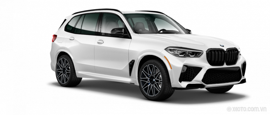 BMW X5 M 2021 Màu Mineral White Metallic