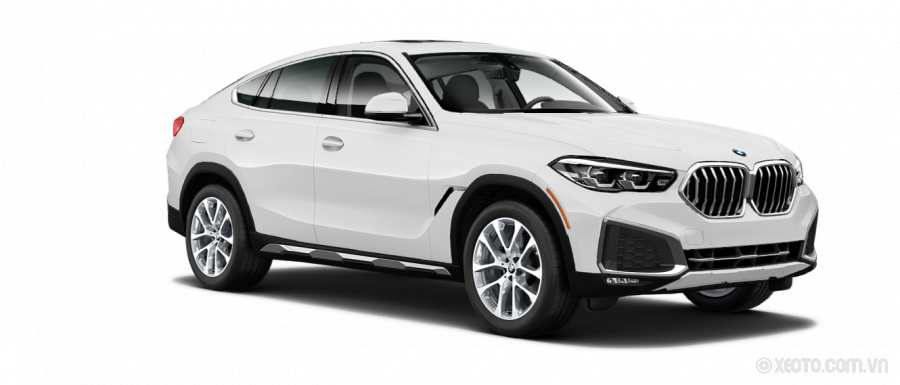 BMW X6 2020 Màu Alpine White
