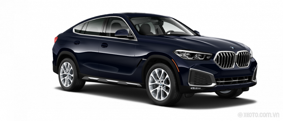 BMW X6 2020 Màu Carbon Black Metallic