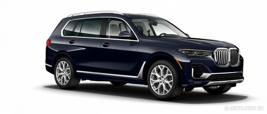BMW X7 2021 Màu Carbon Black Metallic