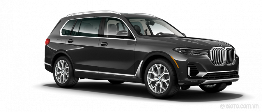 BMW X7 2021 Màu Dark Graphite Metallic
