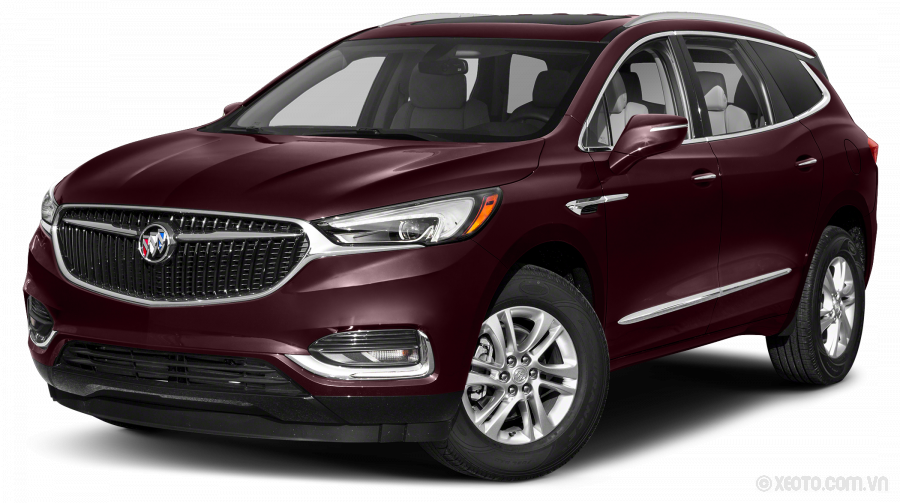 Buick Enclave 2020 Màu Black Cherry Metallic