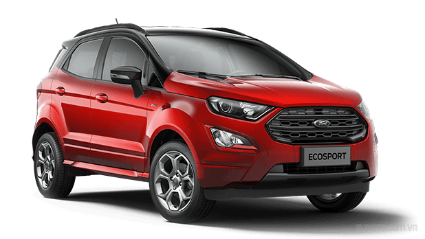 Ford EcoSport 2020 Màu Ruby Red