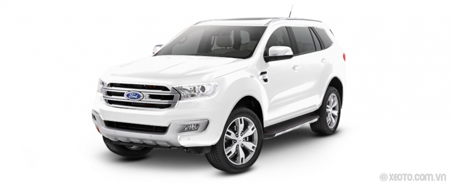 Ford Everest 2021 Màu Cool-white