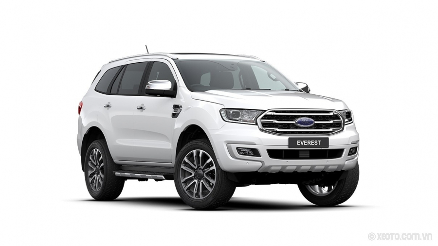 Ford Everest 2021 Màu Cool White