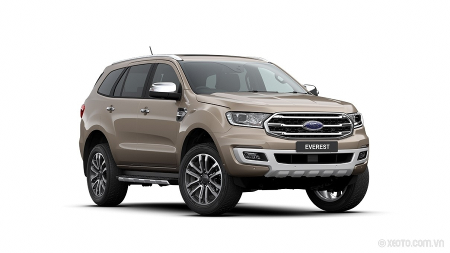 Ford Everest 2020 Màu Diffused Silver