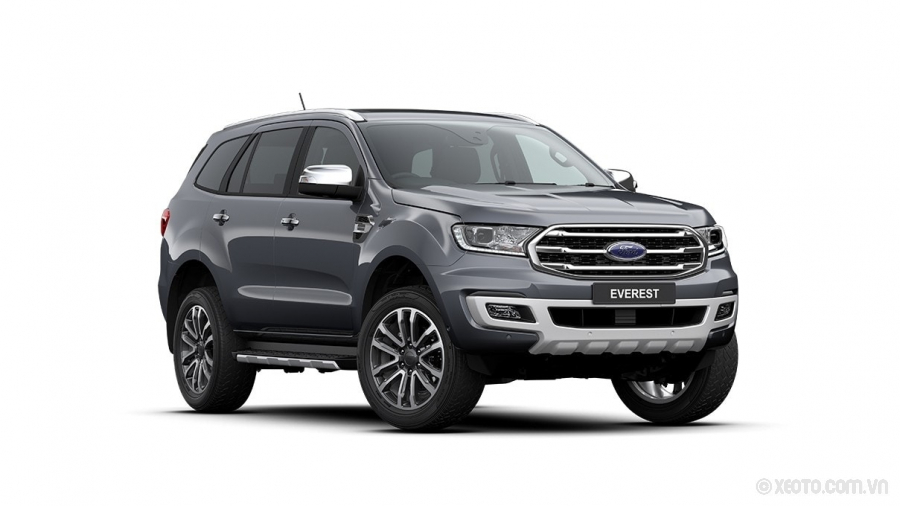 Ford Everest 2020 Màu Meteor Grey