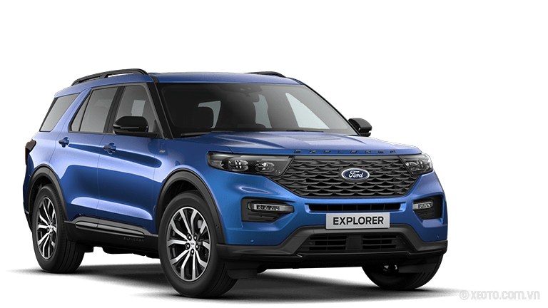 Ford Explorer 2020 Màu Atlas-Blau Metallic