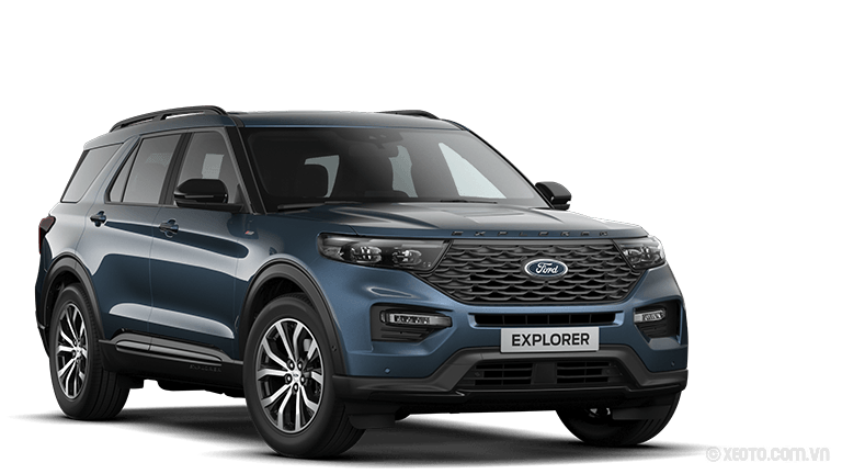 Ford Explorer 2020 Màu Chroma-Blau Metallic