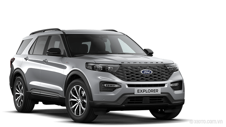 Ford Explorer 2020 Màu Iconic-Silber Metallic