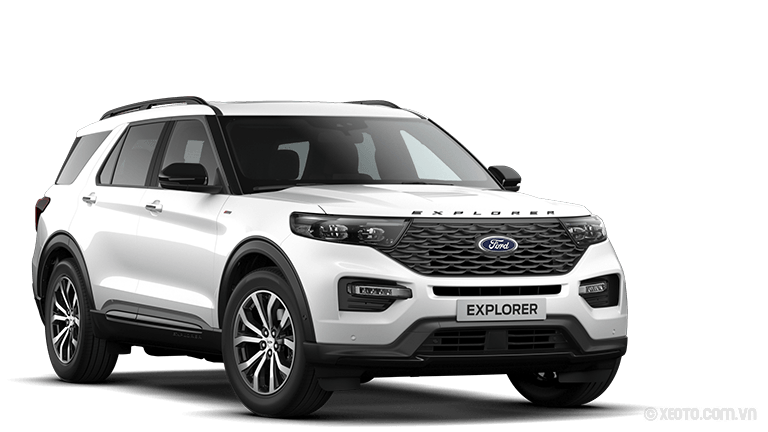 Ford Explorer 2020 Màu Liquid-Weiß