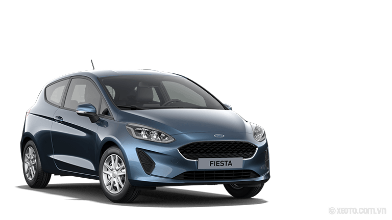 Ford Fiesta 2020 Màu Chroma-Blau Metallic