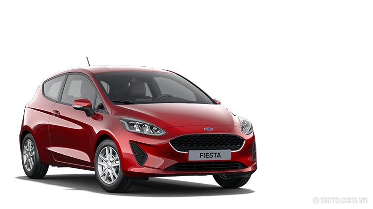 Ford Fiesta 2020 Màu Ruby-Rot Metallic