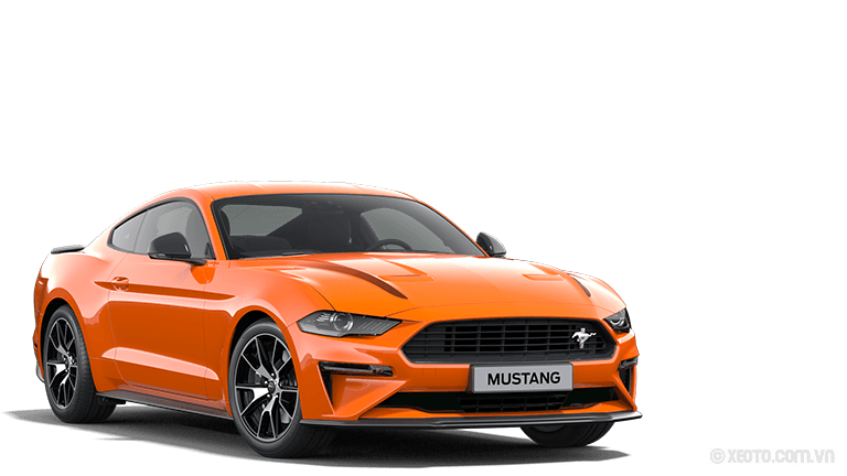 Ford Mustang 2020 Màu Twister-Orange Metallic