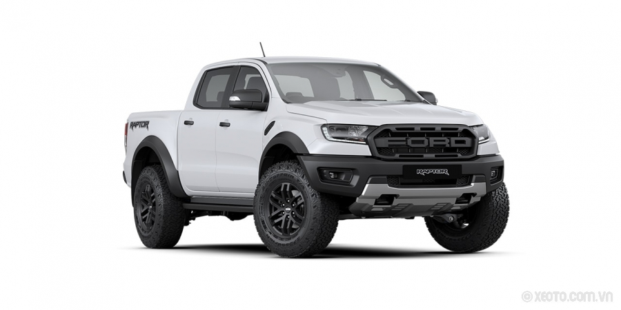 Ford Ranger Raptor 2020 Màu Available in Frozen White