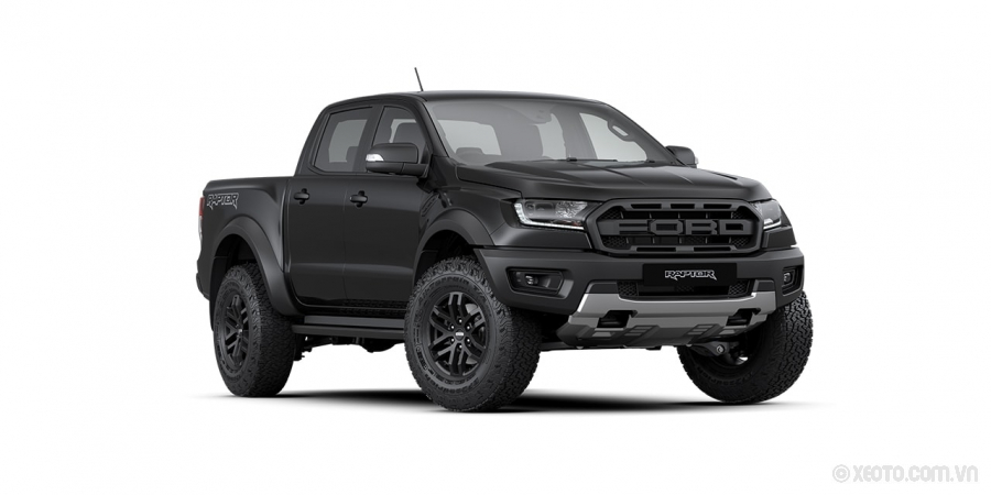 Ford Ranger Raptor 2020 Màu Available in Shadow Black