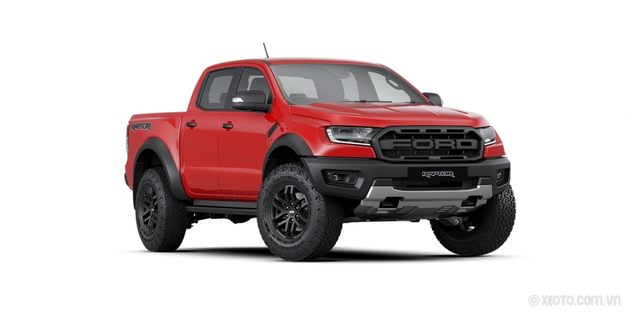 Ford Ranger Raptor 2020 Màu Available in True Red