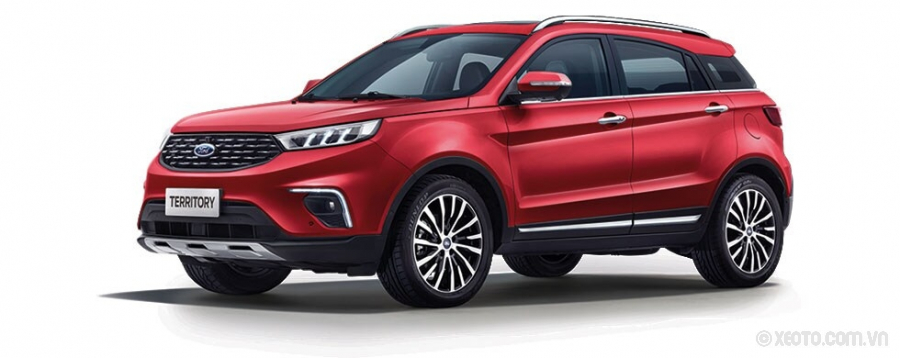 Ford Territory 2021 Màu Ruby Red