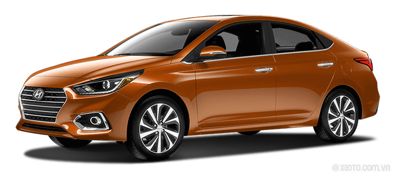 Hyundai Accent 2020 Màu Orange / Sunset Orange