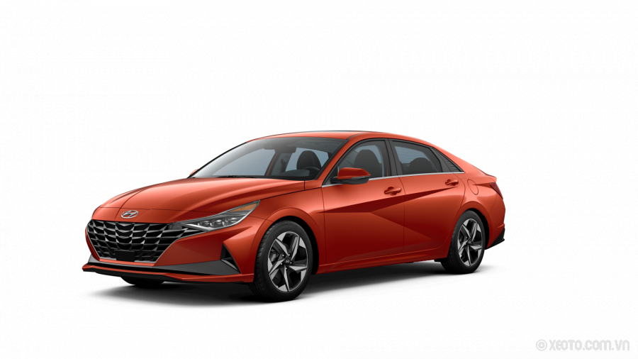 Hyundai Elantra 2021 Màu Orange